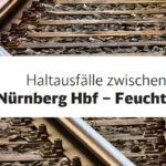 Schienenersatzverkehr 11. bis 23. August