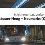 Schienenersatzverkehr 31.10.21 & 14.11.21